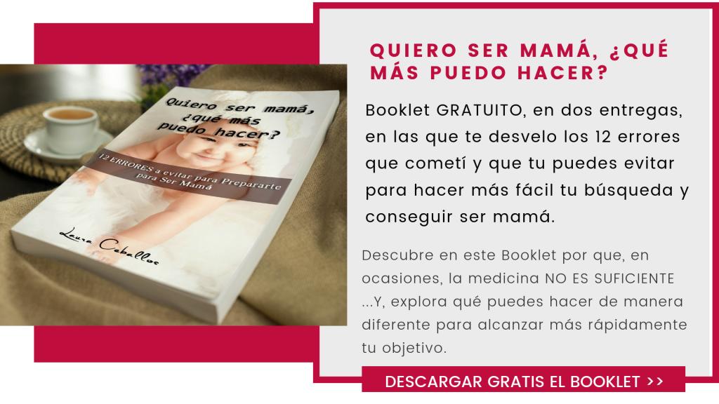 """Recursos gratuitos_ Booklet  """"Quiero ser mama´"""