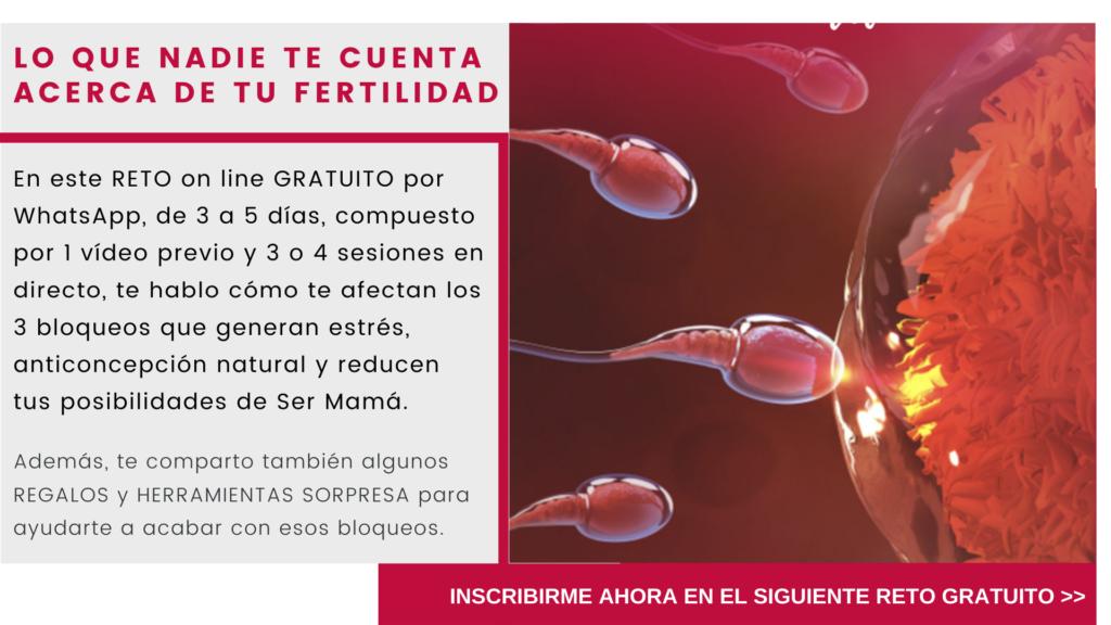 """Productos y Servicios gratuitos  para ayudarte a  ser mamá._Reto """" Lo que nadie te cuenta de tu fertilidad"""""""